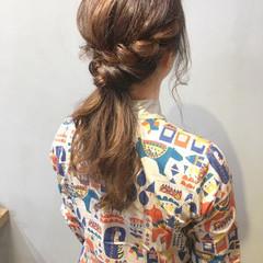 卒業式 ナチュラル 簡単ヘアアレンジ デート ヘアスタイルや髪型の写真・画像