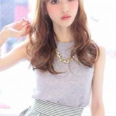 フェミニン モテ髪 ロング ガーリー ヘアスタイルや髪型の写真・画像