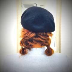 大人かわいい ヘアアレンジ 編み込み モテ髪 ヘアスタイルや髪型の写真・画像