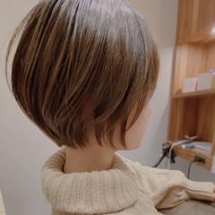 ショートボブ ベリーショート ショート インナーカラー ヘアスタイルや髪型の写真・画像