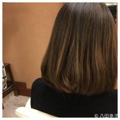 グラデーションカラー ナチュラル 大人女子 ボブ ヘアスタイルや髪型の写真・画像