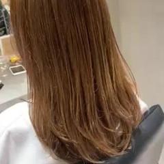 グレージュ ハイライト ロング 極細ハイライト ヘアスタイルや髪型の写真・画像