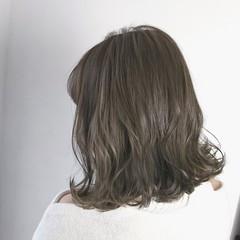 バレンタイン ボブ 透明感 ナチュラル ヘアスタイルや髪型の写真・画像