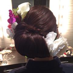まとめ髪 ヘアアレンジ 着物 ロング ヘアスタイルや髪型の写真・画像