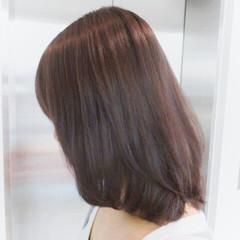 モテ髪 ミディアム パープル ストリート ヘアスタイルや髪型の写真・画像