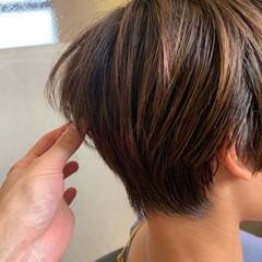 ショート ベリーショート ショートヘア ミニボブ ヘアスタイルや髪型の写真・画像