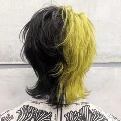 ナチュラル メンズスタイル ウルフカット マッシュウルフ ヘアスタイルや髪型の写真・画像