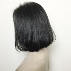 ナチュラル ボブ ショートボブ 大人かわいい ヘアスタイルや髪型の写真・画像