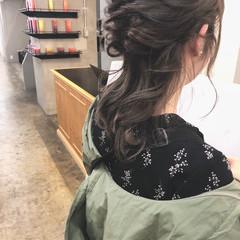 セミロング 大人かわいい フェミニン ナチュラル ヘアスタイルや髪型の写真・画像