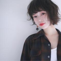 黒髪 パーマ ナチュラル ニュアンス ヘアスタイルや髪型の写真・画像