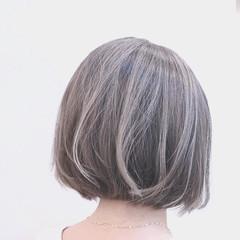 グラデーションカラー インナーカラー ハイライト ナチュラル ヘアスタイルや髪型の写真・画像