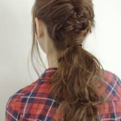 大人かわいい 愛され ショート 簡単ヘアアレンジ ヘアスタイルや髪型の写真・画像