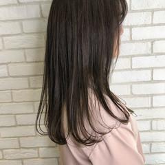 グレージュ サイエンスアクア デート オフィス ヘアスタイルや髪型の写真・画像