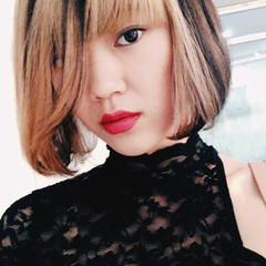 ハイトーン ダブルカラー ピュア 外国人風 ヘアスタイルや髪型の写真・画像