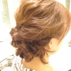 ショート ヘアアレンジ ゆるふわ ナチュラル ヘアスタイルや髪型の写真・画像