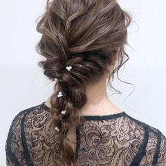 成人式 ナチュラル ヘアアレンジ 結婚式 ヘアスタイルや髪型の写真・画像