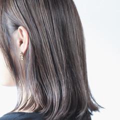 大人ハイライト ハイライト グレージュ コントラストハイライト ヘアスタイルや髪型の写真・画像