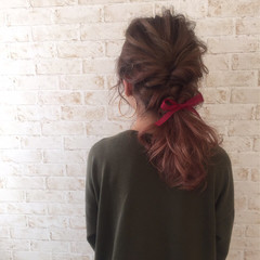 フェミニン ガーリー グラデーションカラー ゆるふわ ヘアスタイルや髪型の写真・画像