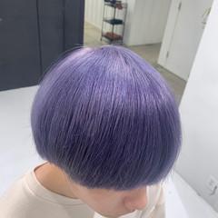 ハイトーンカラー メンズカラー ヘアカラー モード ヘアスタイルや髪型の写真・画像