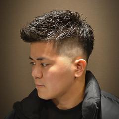 ストリート メンズパーマ スキンフェード ベリーショート ヘアスタイルや髪型の写真・画像