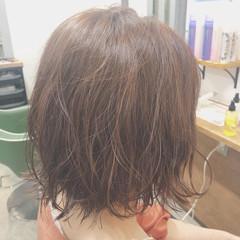 波巻き オレンジベージュ 美容師ピックアップ ボブ ヘアスタイルや髪型の写真・画像