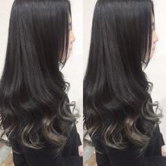 暗髪 秋 ストリート 冬 ヘアスタイルや髪型の写真・画像