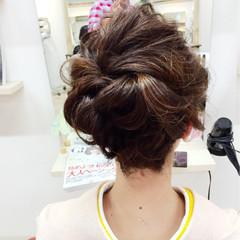 ミディアム 成人式 外国人風 謝恩会 ヘアスタイルや髪型の写真・画像