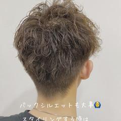 メンズ メンズヘア ナチュラル ショート ヘアスタイルや髪型の写真・画像