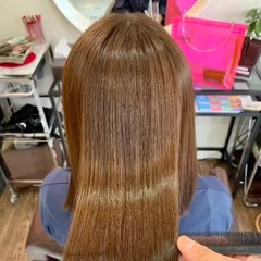髪質改善トリートメント 銀座美容室 ナチュラル 髪質改善 ヘアスタイルや髪型の写真・画像