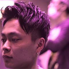 ボーイッシュ ベリーショート 刈り上げ 外国人風 ヘアスタイルや髪型の写真・画像