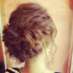 ロング ヘアアクセ ヘアアレンジ ストリート ヘアスタイルや髪型の写真・画像
