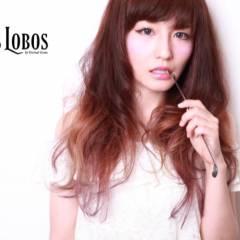 ロング グラデーションカラー ヘアスタイルや髪型の写真・画像