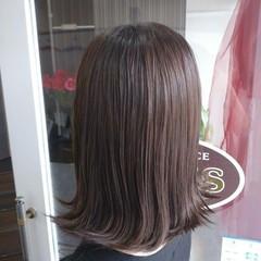 アッシュブラウン ブラウン ナチュラル ボブ ヘアスタイルや髪型の写真・画像