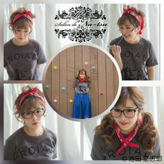 ショート ヘアアレンジ 簡単ヘアアレンジ 大人女子 ヘアスタイルや髪型の写真・画像