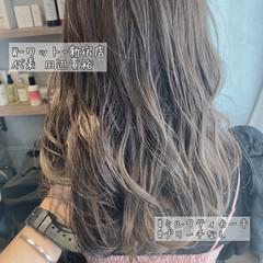 アンニュイほつれヘア デート ハイライト 3Dハイライト ヘアスタイルや髪型の写真・画像