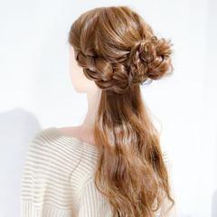 簡単ヘアアレンジ 大人女子 ヘアアレンジ ロング ヘアスタイルや髪型の写真・画像