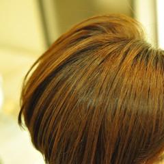 小顔 ショートボブ ショート コンサバ ヘアスタイルや髪型の写真・画像