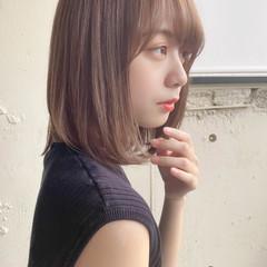 縮毛矯正ストカール ナチュラル デジタルパーマ ミディアム ヘアスタイルや髪型の写真・画像