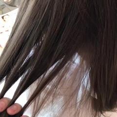 アッシュ エレガント 上品 透明感 ヘアスタイルや髪型の写真・画像