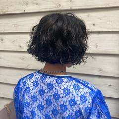 ゆるふわパーマ  パーマ ボブ ヘアスタイルや髪型の写真・画像
