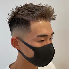 フェードカット スキンフェード メンズヘア メンズカラー ヘアスタイルや髪型の写真・画像