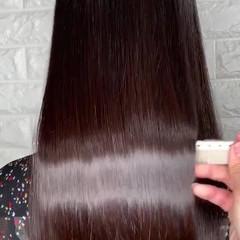 ガーリー 成人式 オフィス ロング ヘアスタイルや髪型の写真・画像