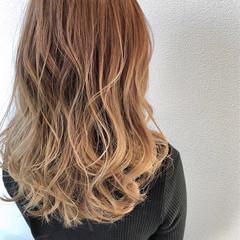 エレガント グラデーションカラー グラデーション 派手髪 ヘアスタイルや髪型の写真・画像