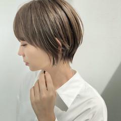 ハンサムショート ショート ショートボブ ショートヘア ヘアスタイルや髪型の写真・画像
