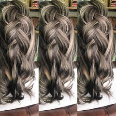 ナチュラル ローライト 外国人風カラー ハイライト ヘアスタイルや髪型の写真・画像