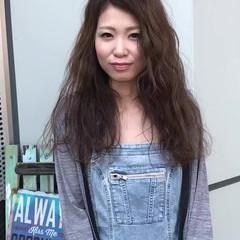 大人女子 ウェーブ 大人かわいい ルーズ ヘアスタイルや髪型の写真・画像