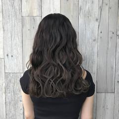 透明感 イルミナカラー ハイライト ガーリー ヘアスタイルや髪型の写真・画像
