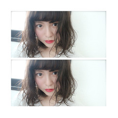 ニュアンス 色気 ボブ 大人女子 ヘアスタイルや髪型の写真・画像