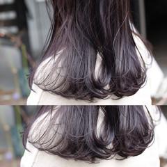 ミディアム ストリート ブリーチ グラデーションカラー ヘアスタイルや髪型の写真・画像