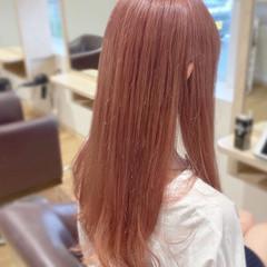 ロング 透明感カラー フェミニン 透明感 ヘアスタイルや髪型の写真・画像